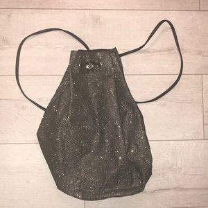 Victoria's Secret sparkle bomb bucket backpack new